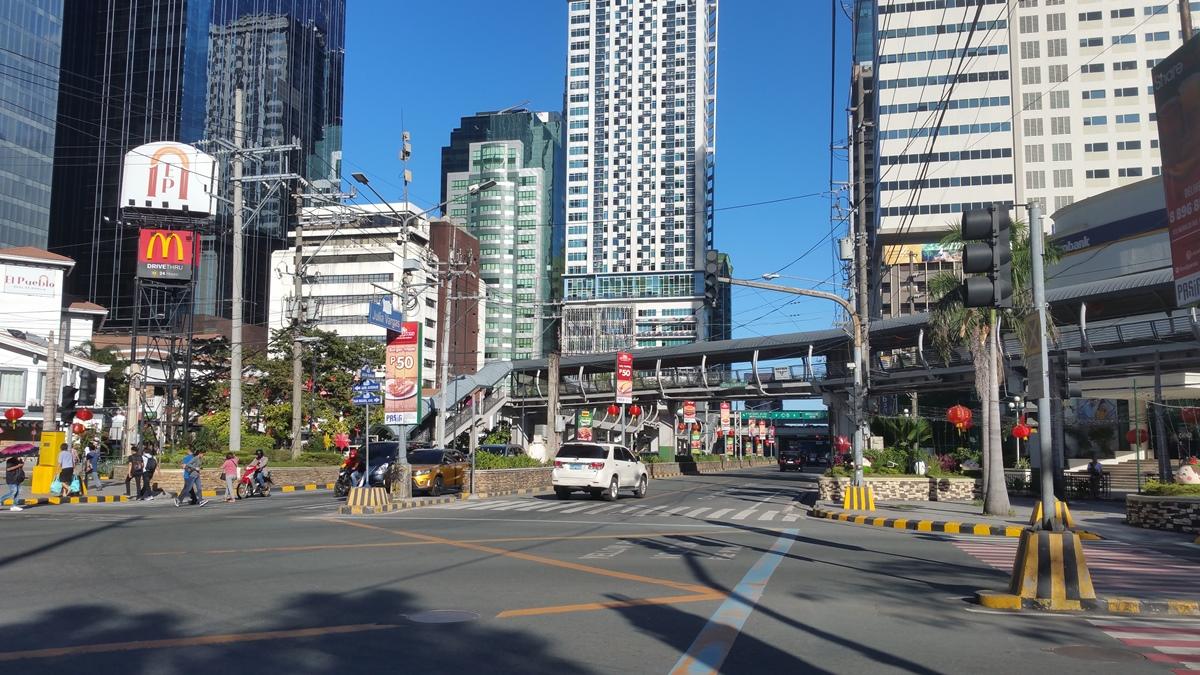 フィリピンの交差点