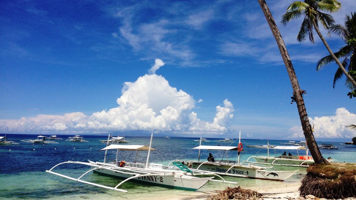 フィリピンのボホール島