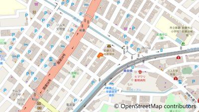 ゲストハウスCamCam沖縄の地図