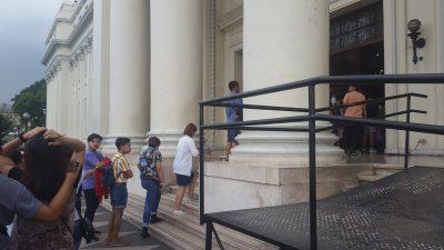 フィリピン国立博物館へのエントランス