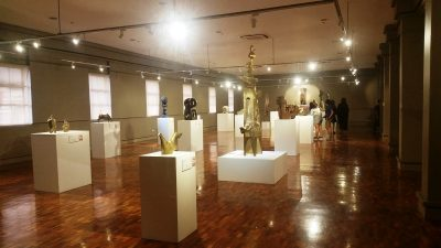 ギャラリー29に展示されている宝飾品