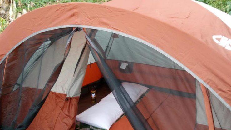 ダイリグリゾートのテント