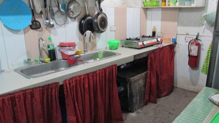 ダイリグリゾートの共有台所