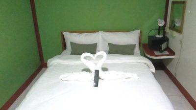 ブルーホエールダイブリゾートのベッド