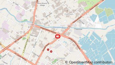 Maayo Medical Clinicの地図