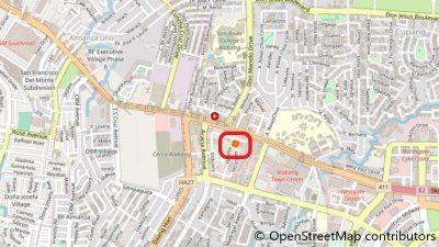 Tokyo Healthlink(アラバン)の地図