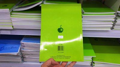アップルブランドリング無しノート