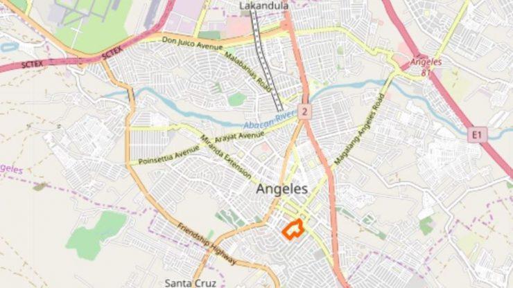 ホーリーエンジェル大学地図