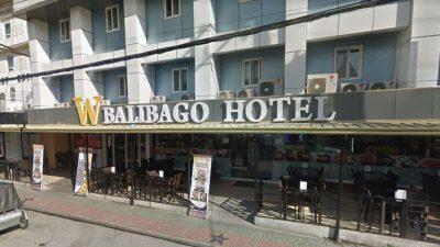 アンヘレスのバリバゴホテル正面