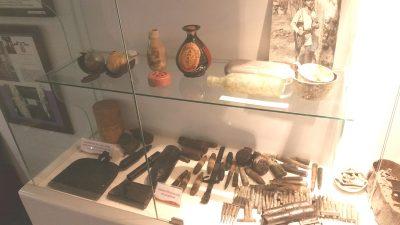戦時中の部品展示