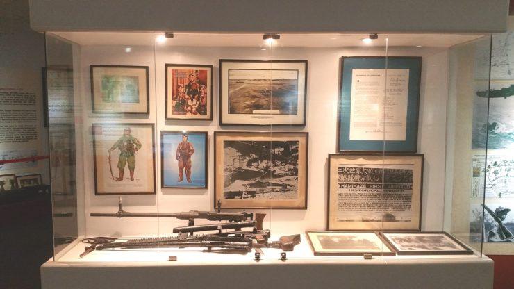 戦時中の展示