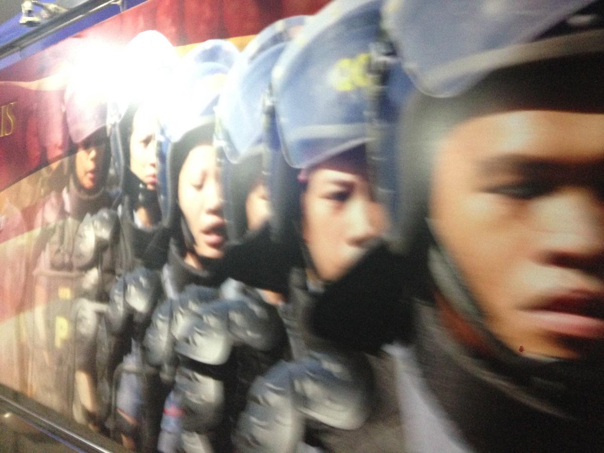 フィリピン国軍の隊列