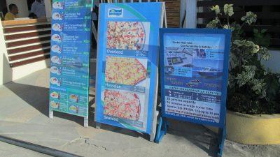 ピザの看板