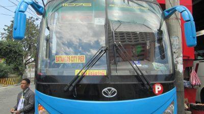 ジャックライナーのバス