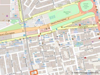 OYO 123 Elyseah Condotel地図