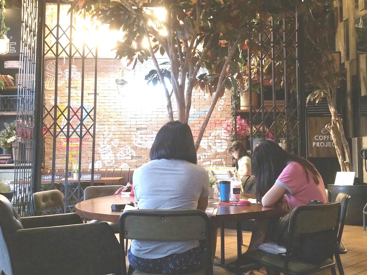 フィリピンのカフェ