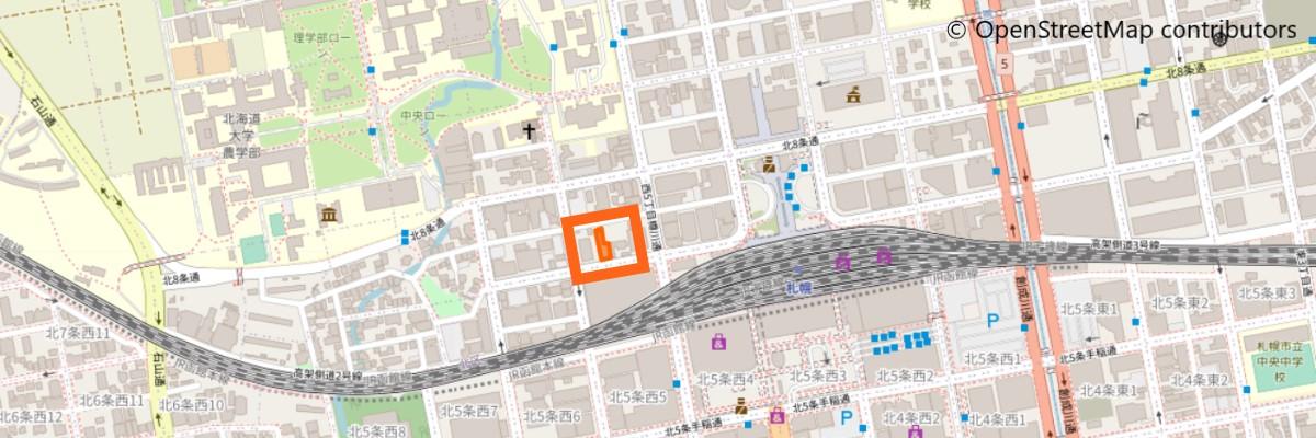 サンフレンズ留学センターの地図