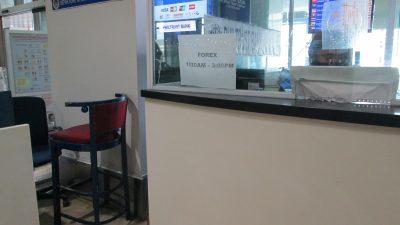 マニラ空港第1ターミナルの両替所営業時間