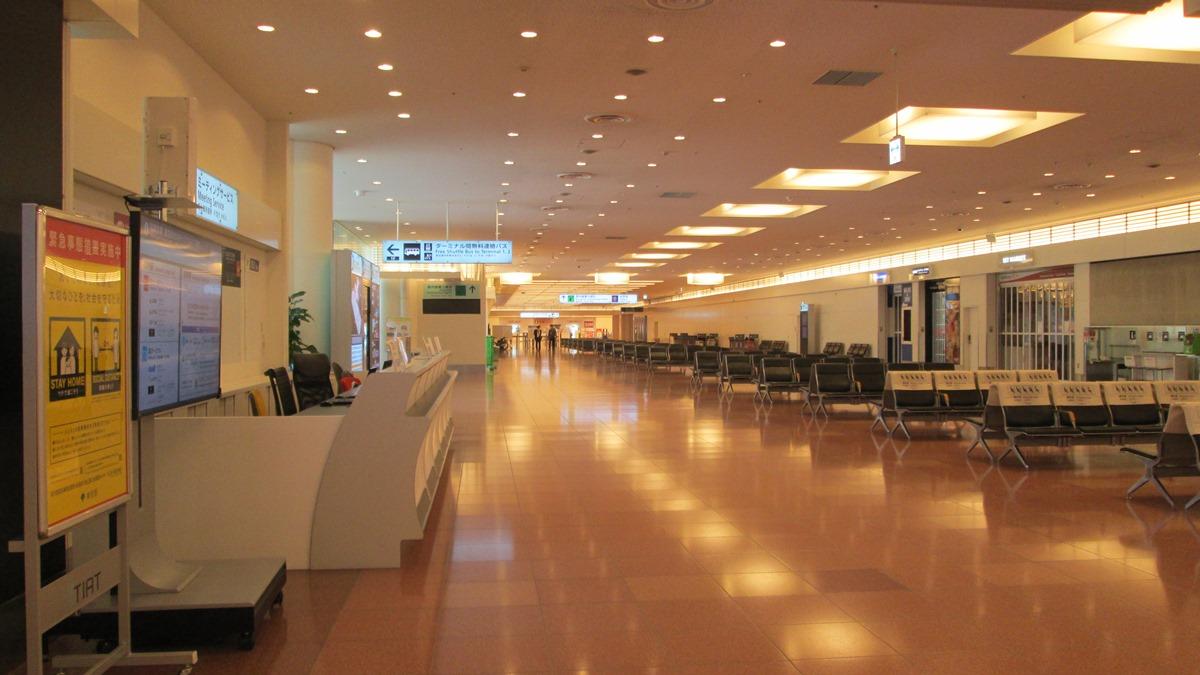 羽田空港第3ターミナル到着ロビー