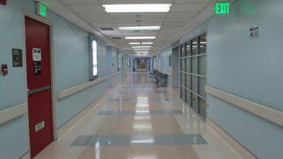 セントルークスの廊下