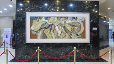 セントルークス第2ロビーにある絵画
