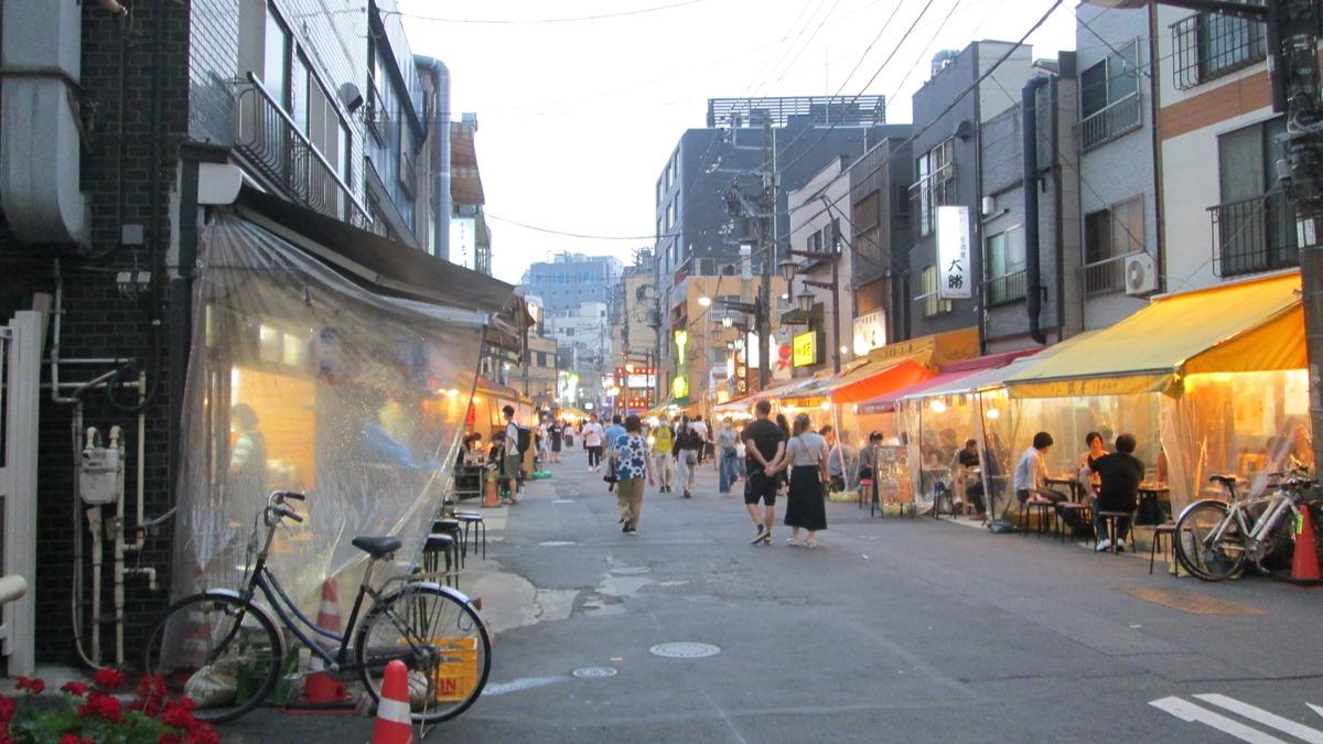 浅草周辺の飲み屋街