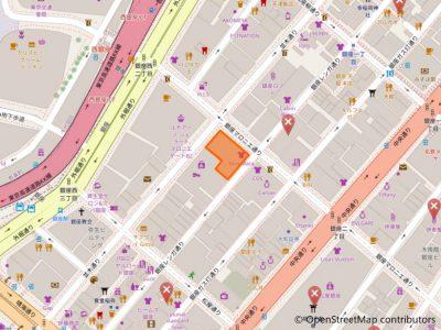 銀座店地図