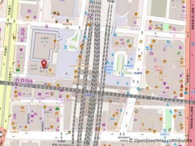秋葉原店地図