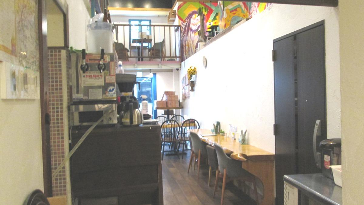 1階のピザ屋さん