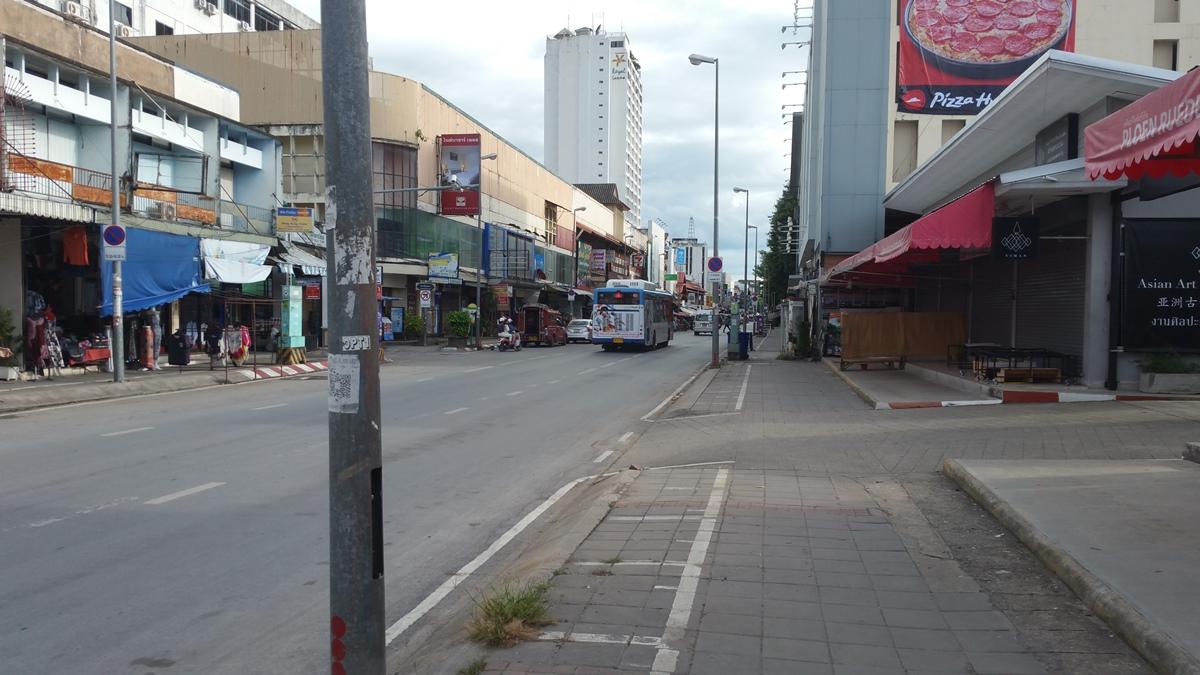 チェンマイの道路