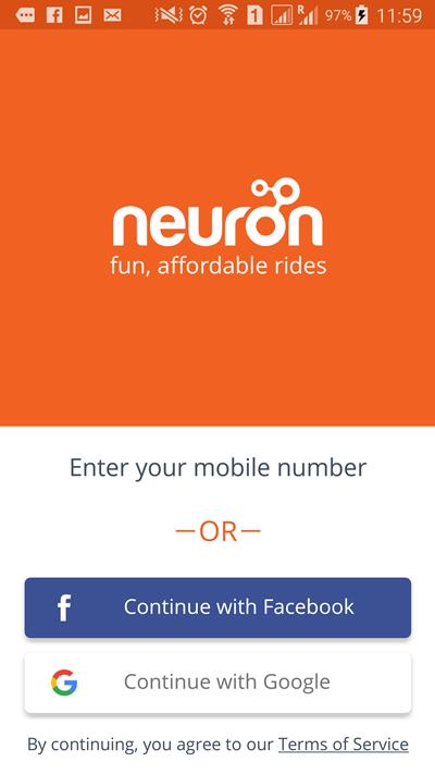 ニューロン初期画面