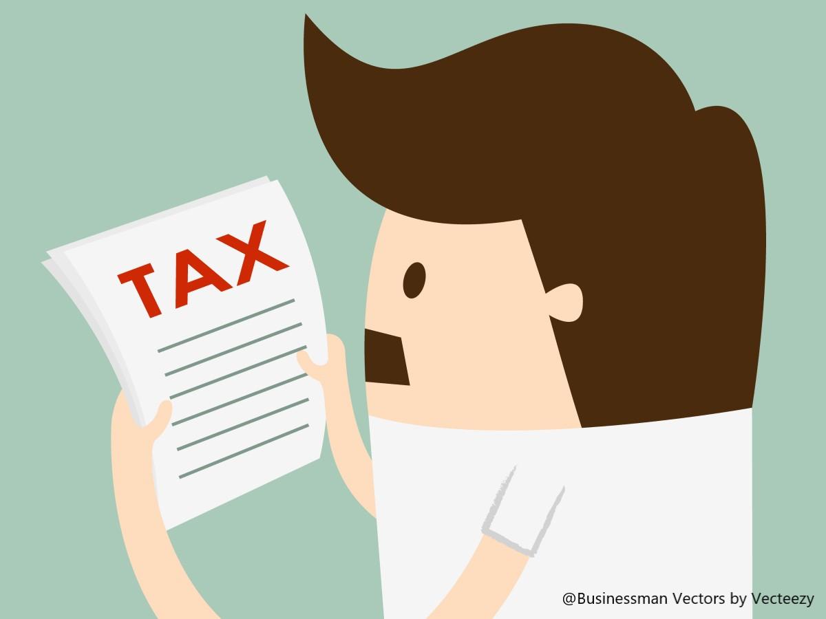 税金を払おうとしてる人