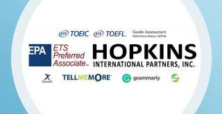 TOEICホプキンスのロゴ