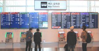 羽田空港第3ターミナルのバス乗り場