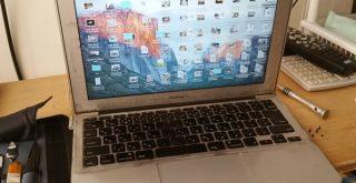 マックブックのデスクトップ