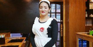 日本食堂の店員さん